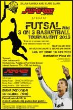 Undangan Futsal Dan 3 On 3 Basket Tournament 2013 Blognya Bang Fajar